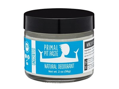 Primal Pit Paste All Natural Unscented Deodorant | 2 Ounce Jar