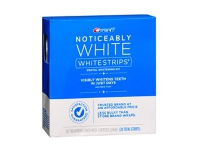 Crest Noticeably White Whitestrips, 20 ct