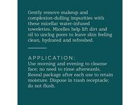 Belei Oil-Free Micellar Facial Cleansing Wipes, Alcohol Free, 25 Count (Pack of 2) - Image 6