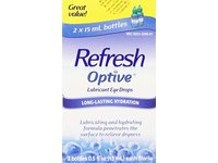 Refresh Optive Lubricant Eye Drops, 15 ml - Image 2