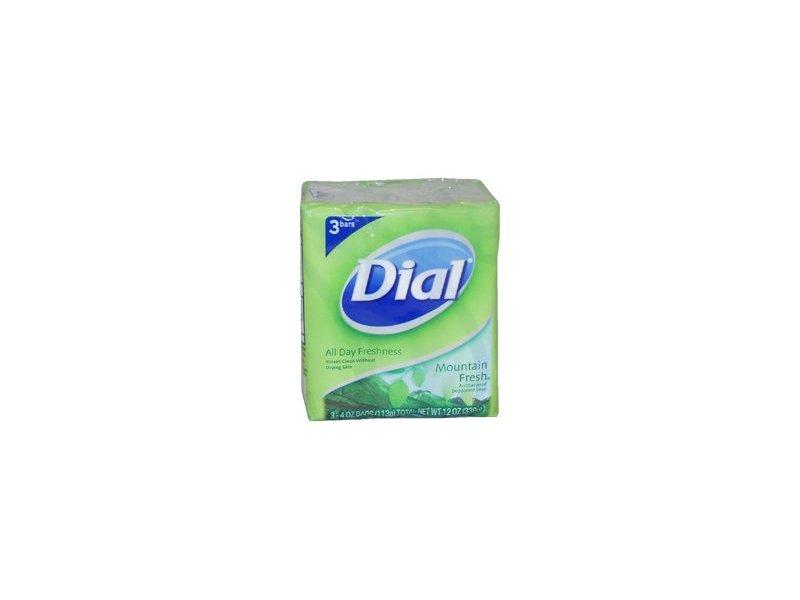 Dial Mountain Fresh Antibacterial Deodorant Soap, 4 oz