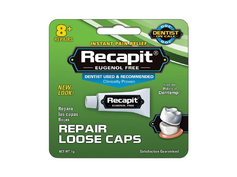 Recapit Cap And Crown Cement ,1 gm