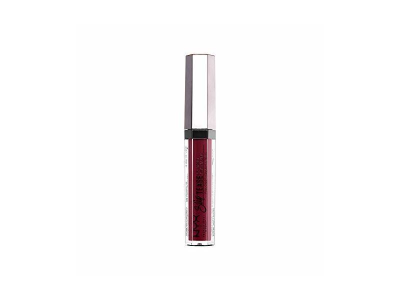 NYX Slip Tease Full Color Lip Lacquer, Spiced Spell, 0.1 fl oz