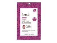 Found Firming Sheet Mask, Argan, 1 ct - Image 2