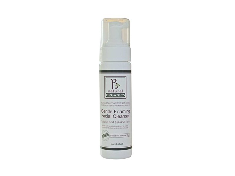 Be Natural Organics Gentle Foaming Facial Cleanser, 7 Oz
