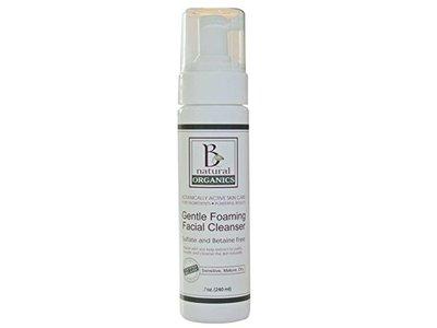 Be Natural Organics Gentle Foaming Facial Cleanser, 7 Oz