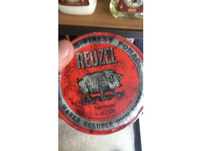 REUZEL Hair Pomade, Red, 4 oz - Image 4