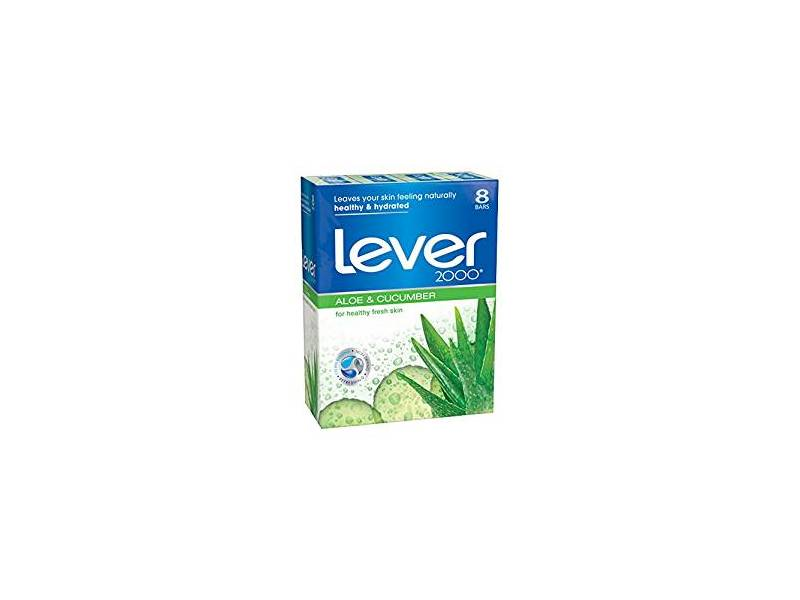 Lever 2000 Bar Soap Aloe And Cuber 4 Oz Loading Zoom