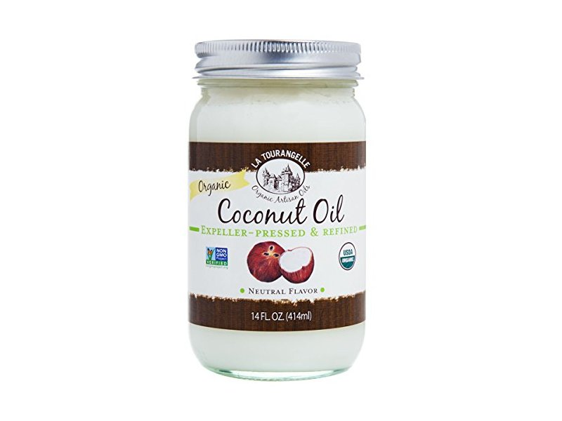 La Tourangelle Organic Refined Coconut Oil, 14 Ounce