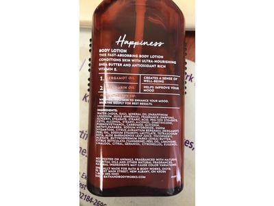 Bath & Body Works Happiness Body Lotion, Bergamot Mandarin, 6.5 fl oz - Image 4