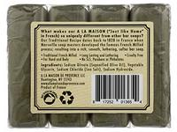 A La Maison, Soap Bar Hand Body Unscented Olive Oil, 14.1 Ounce - Image 5