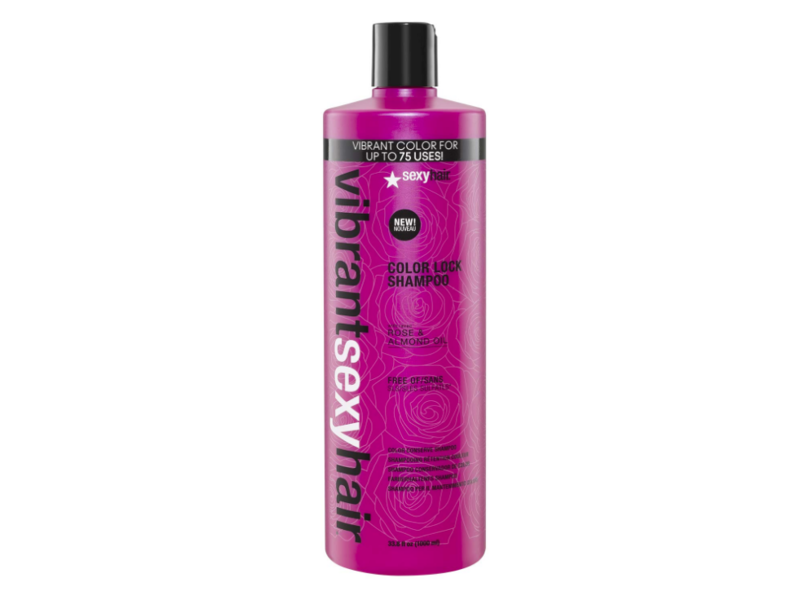 Sexy Hair Vibrant Sexy Hair Color Lock Shampoo, 33.8 fl oz