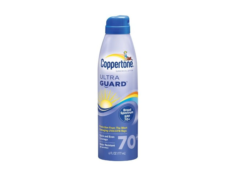 Coppertone Ultraguard Sunscreen Continuous Spray, sSPF 70