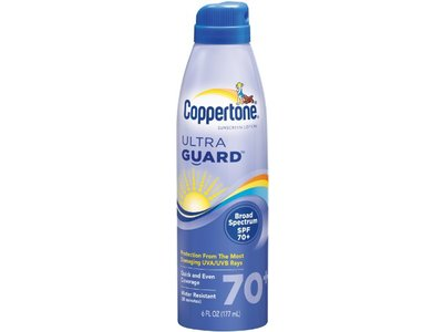 Coppertone Ultraguard Sunscreen Continuous Spray, sSPF 70 - Image 1
