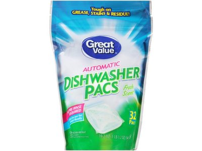 Great Value Automatic Dishwasher Pacs - Image 1
