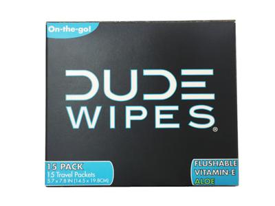 Dude Wipes, 15 wipes