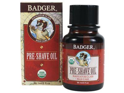 Badger Pre-Shave Oil, 2 fl oz