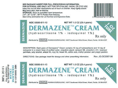 Dermazene Cream 1%-1% (RX) 28.4 Grams, Stratus Pharmaceuticals, Inc. - Image 1