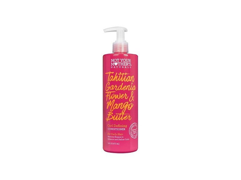 Not Your Mother's Naturals Tahitian Gardenia Flower & Mango Butter Curl Defining Conditioner, 16 fl oz