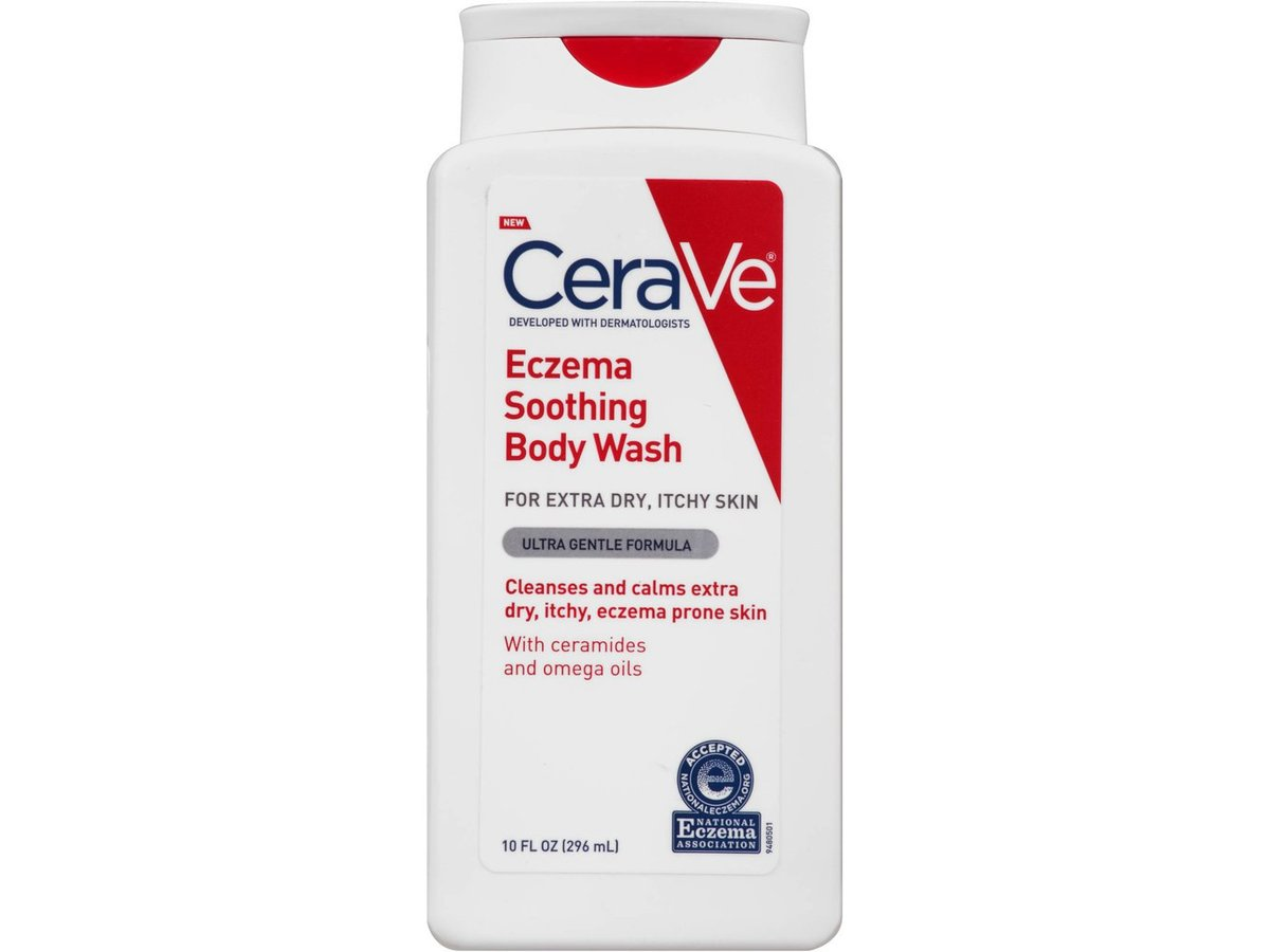 Cerave Eczema Soothing Body Wash 10 Fl Oz Ingredients And