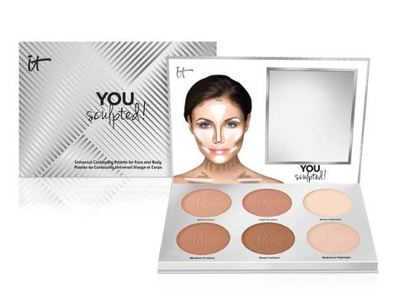 It Cosmetics My Sculpted Face Universal Contouring Palette, 0.54 oz