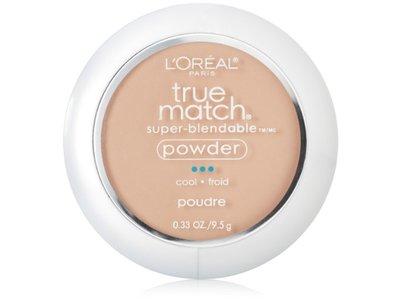 L'Oreal Paris True Match Super-Blendable Powder, Creamy Natural, 0.33 oz / 9.5 g