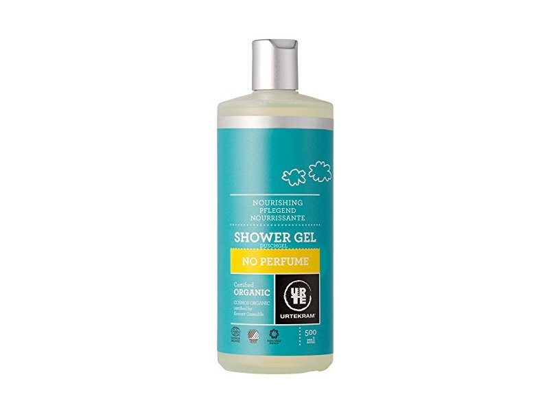 Urtekram Organic No Perfume Shower Gel, 500ml