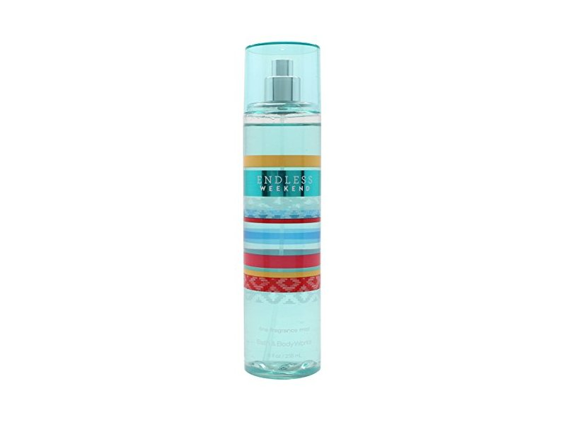 Bath & Body Endless Weekend Body Fine Fragrance Mist, 8 FL OZ