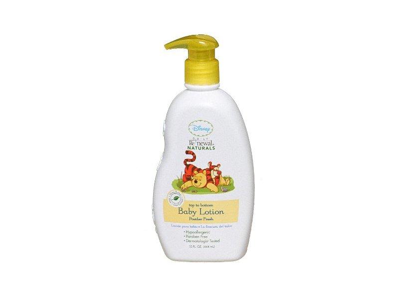 Disney Baby Lotion Powder, Fresh, 15 fl oz