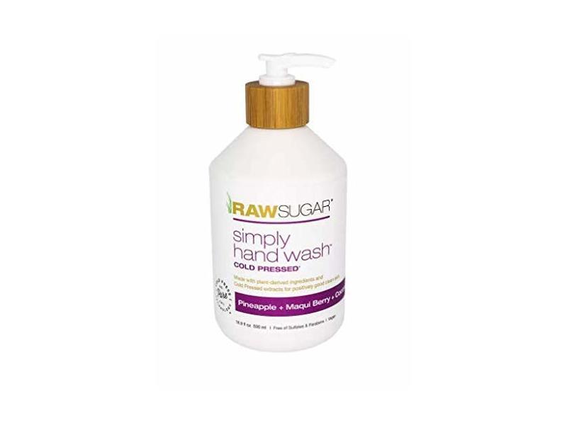Raw Sugar Simply Cold Pressed Hand Wash, 16.9 fl oz/500 ml