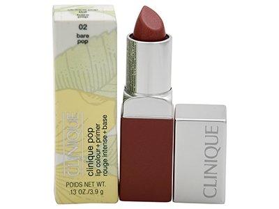 Clinique Pop Lip Color + Primer Lipstick, # 02 Bare, 0.13 oz
