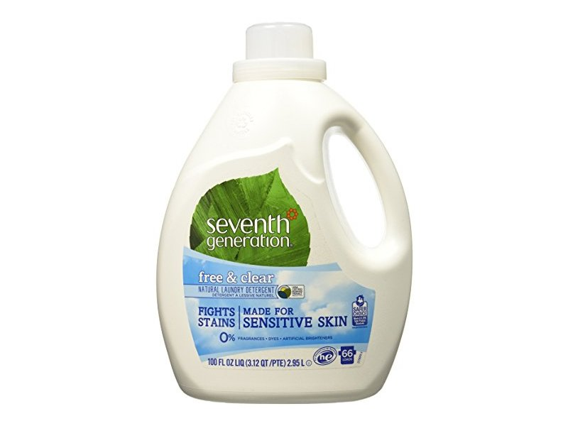 Seventh Generation Natural Liquid Laundry Detergent Free & Clear, 66 loads