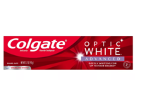 Colgate Optic White Advanced Whitening Toothpaste, Sparkling White, 3.2 oz / 90 g, Pack Of 3 - Image 2