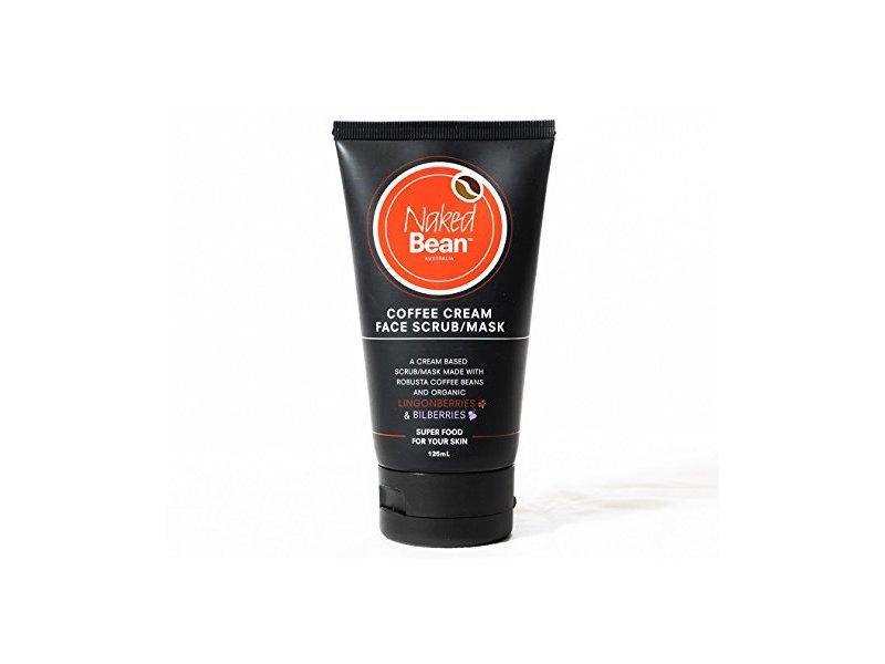 Naked Bean Coffee Cream Face Scrub Mask 125ml