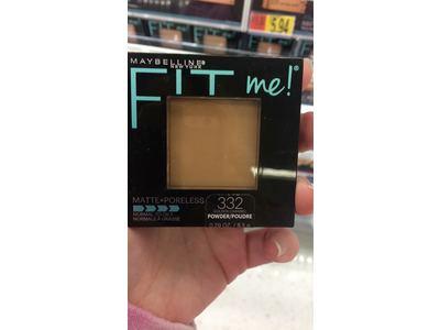 Maybelline New York Fit Me Matte + Poreless Pressed Face Powder Makeup, Golden Caramel, 0.28 Ounce - Image 3