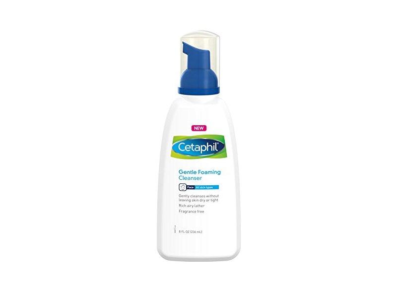 Cetaphil Gentle Foaming Cleanser 8oz Pack Of 2