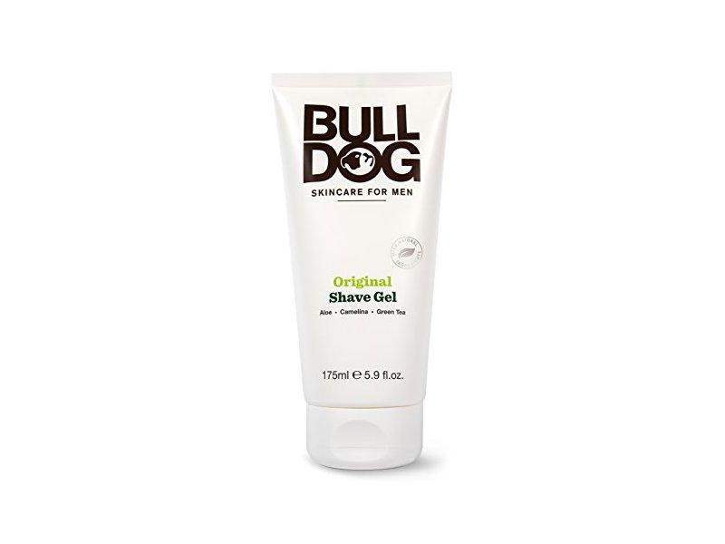 BULL DOG Original Shave Gel, 5.20 Fluid Ounce