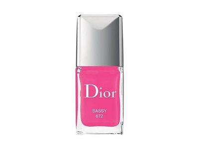 Dior Vernis Gel Shine & Long Wear Nail Lacquer, Sassy, 0.33 fl oz