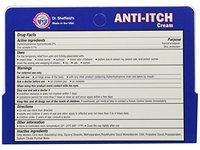 Dr. Sheffield Anti-Itch Cream with Histamine Blocker, 1.25 oz - Image 5