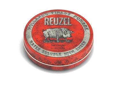 REUZEL Hair Pomade, Red, 4 oz - Image 1
