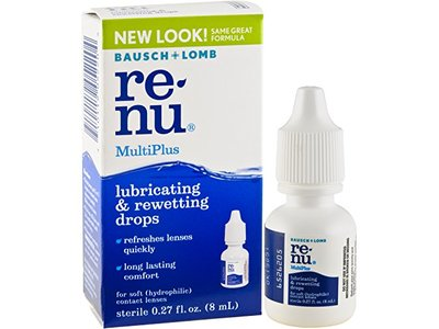 Bausch & Lomb ReNu MultiPlus Lubricating & Rewetting Drops, 0.27-Ounce - Image 7