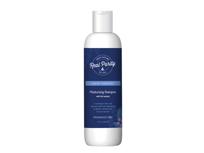 Real Purity Moisturizing Shampoo, Fragrance Free, 8 fl oz