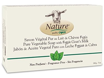 Nature by Canus Goat's Milk Soap, Fragrance-Free, 5 Ounce