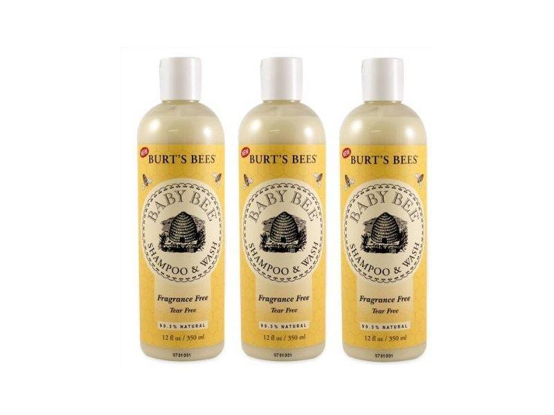 Burt's Bees Baby Bee Fragrance Free Shampoo & Wash, 8oz