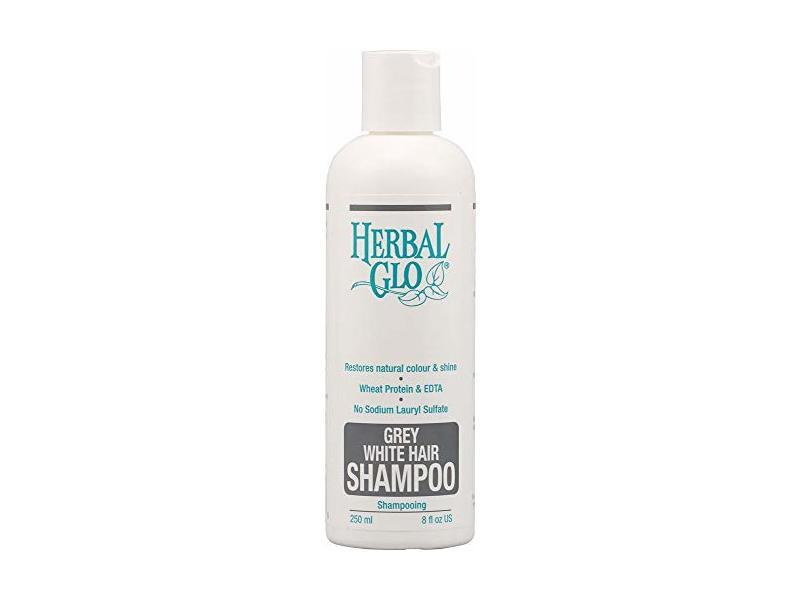 Herbal Glo Grey White Hair Shampoo, 8 fl oz