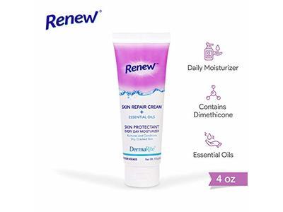 Dermarite Industries Renew Skin Repair Cream Plus Essential Oils, 4 oz.