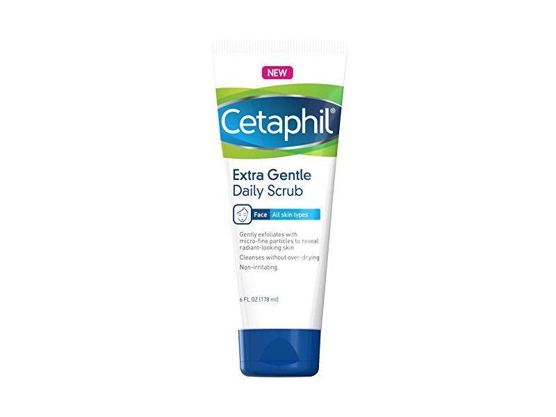Cetaphil Extra Gentle Daily Scrub 6 oz, 2 Count