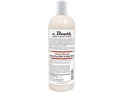 c. Booth Nourishing Bath & Body Wash, Honey Almond 16 oz (Pack of 11) - Image 1