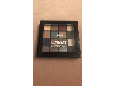 Nyx Professional Makeup Ultimate Shadow Palette, Ash - Image 4