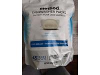 Method Dishwasher Packs, Free+Clear, 675 g/23.8 oz, 45 Count - Image 3